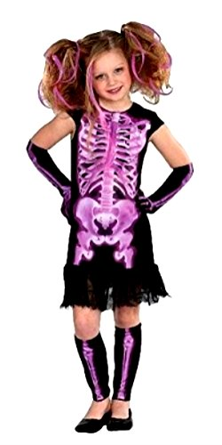Totally Ghoul Shocking Xray girl Halloween costume Size: LARGE 8-10 years old -