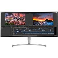 "LG 37,5"" 38WK95C 5 Ms WQHD 21:9 Ultra Geniş Kavisli HDMI-DP-USB Type-C FreeSync IPS LED Monitör"
