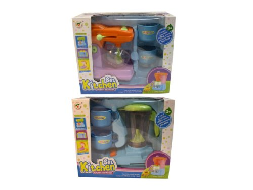 Kitchen Mixer and Blender Play Set , Kid ,Toy , Hobbie , Nice Gift by bulk buys