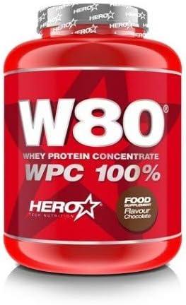 Hero W80 Concentrado de Proteína de Suero de Leche 100% 2 Kg ...