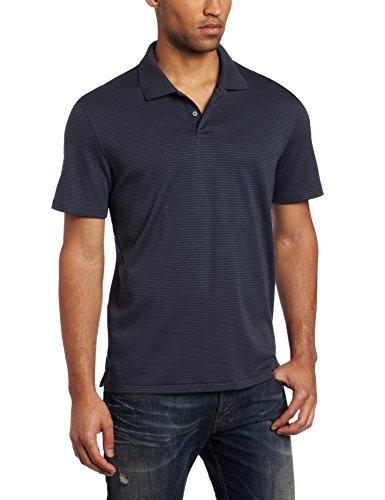UPC 769534675053, Calvin Klein Men's Liquid Cotton Stripe Polo, India Ink, 2X-Large