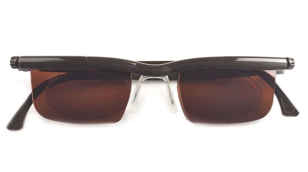 9aa897c408 Adlens Sundials Adjustables Instant Prescription Sunglasses EM02   Chestnut Brown  Amazon.ca  Health   Personal Care