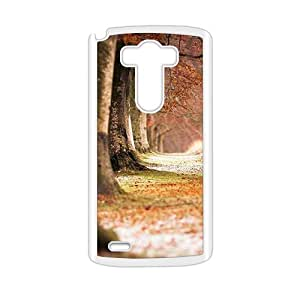 Autumn Forest White Phone Case for LG G3