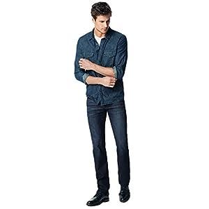 Men's Classic Fit Straight Leg Jeans