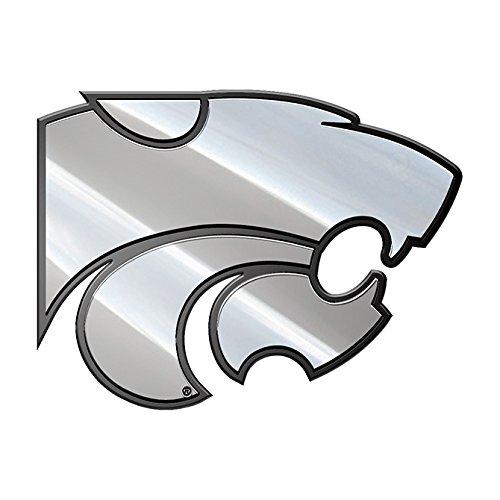 NCAA Kansas State Wildcats Premium Metal Auto Emblem