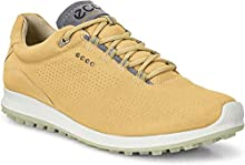 ECCO Women's Biom Hybrid 2 Perforated Hydromax Golf Shoe, Powder Yak Leather, 36 M EU (5-5.5 US)