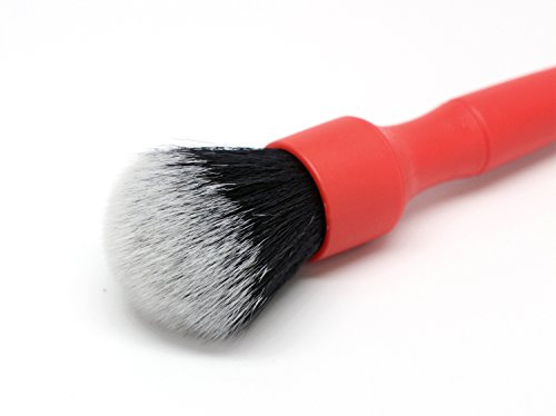 Large Detail Factory Boars Hair Red Detail Brush