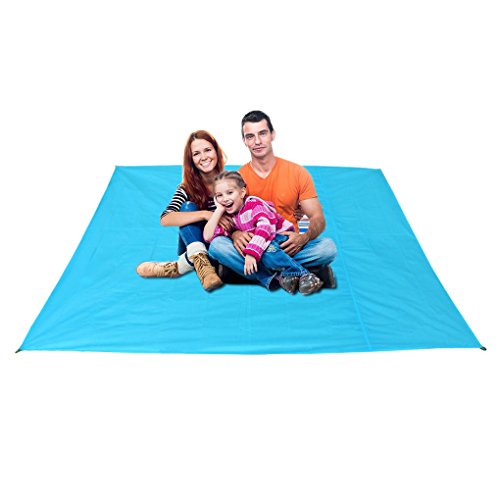 Multi-purpose Waterproof Picnic Blanket Rug Baby Crawl Mat Playmat Foldable Outdoor Travel Beach Camping Mat Blanket Tent Awning, Easy to Clean by Fakeface
