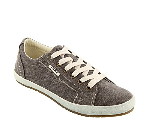 Taos Women's Star Chocolate Wash Canvas 9.5 B (M) US