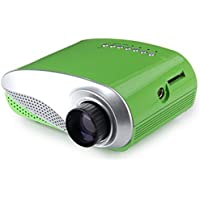 Generic H60 60 Lumens Home Mini LCD Projector Max 1920 x 1080 Resolution 16:9 with 4:3 Aspect Ratio Support HDMI USB VGA IR SD Card - US Plug