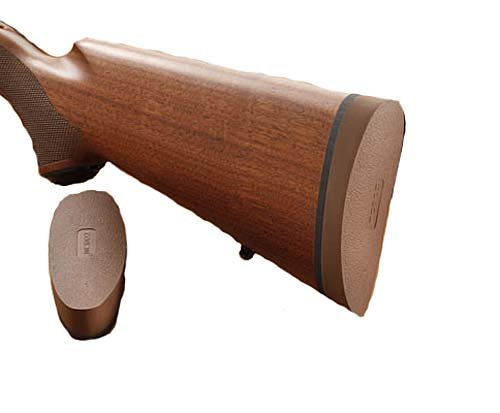 Hogue EZG Pre-Sized Recoil Pad Winchester 70 Featherweight Wood Stock, Brown