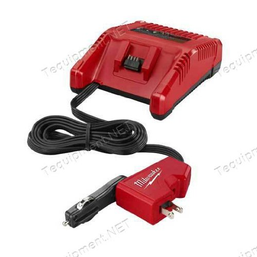 Milwaukee 2710-20 M18 AC/DC Charger (Milwaukee Tools Car Charger)