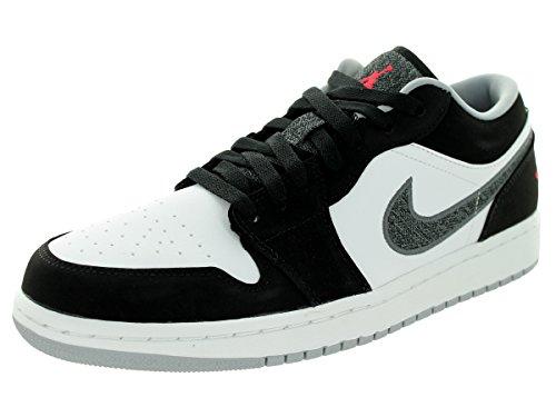 Zapatos Nike Jordan Air Jordan 1 Low Baloncesto Black/Infrrd 23/White/Wlf Grey