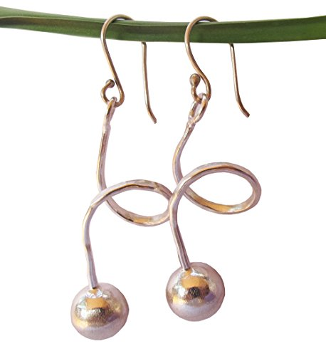 ThaiJewelry WEIGHT 7.10 G. BEAUTIFUL THAI KAREAN HILL TRIBE SILVER CIRCLE EARRING SIZE 20 x 45 MM BY HAND -