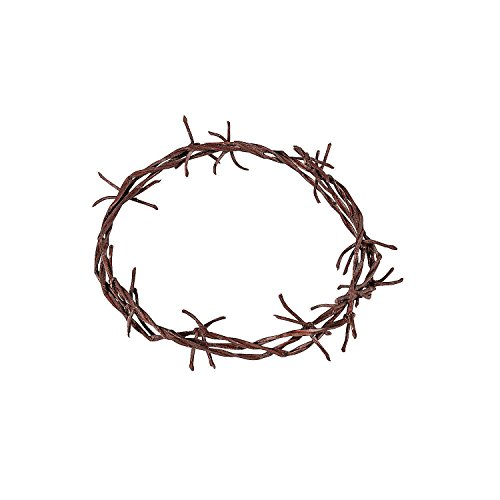 Fun Express  Child Crown of Thorns for Easter  Apparel Accessories  Costume Accessories  Costume Props  Easter  1 Piece