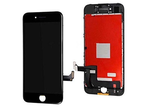 7 Plus Screen Replacement,Compatible 7 Plus 5.5 inch LCD Replacement Screen with 3D Touch Screen Digitizer Fram Assembly Full Set + Free Tools (Black)