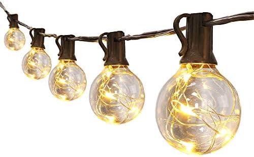 10m 30ft 30 * g40 bianco caldo eco friendly led lampadine filo di