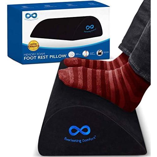 Everlasting Comfort Foot Rest Teardrop Curved Design