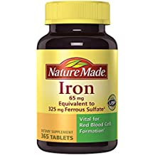 Nature Made Iron 65 mg (from Ferrous Sulfate)