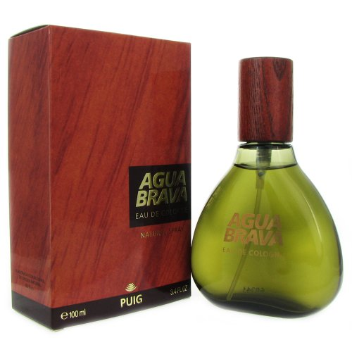 Puig Agua Brava Eau de Cologne Spray for Men, 3.4 - Spray Brava Agua