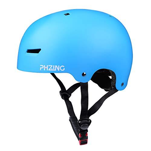 PHZING Skateboard Helmet with Adjustable System Ideal for Sk