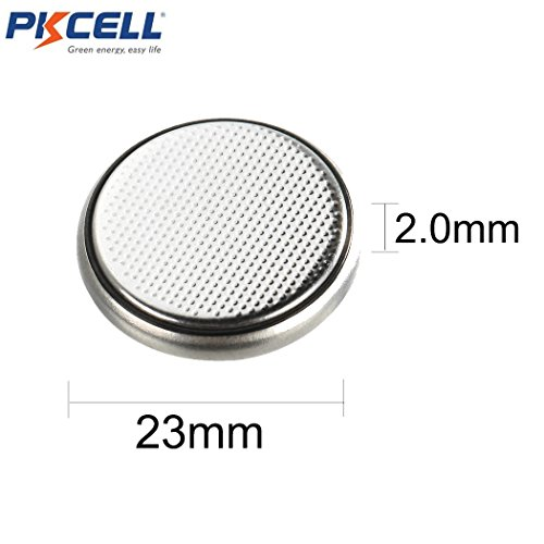 20 X CR2320 BR2320 2320 3V 130mAh Lithium Coin Cell Watch Battery by PK Cell (Image #1)