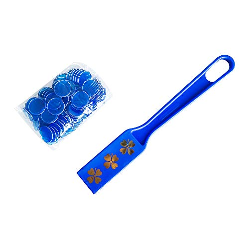 (YH Bingo Magnetic Wand with 100 Chips-Blue)