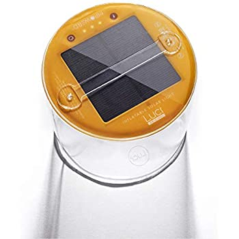 MPOWERD Luci - The Original Inflatable Solar Light, Clear Finish (New Features)