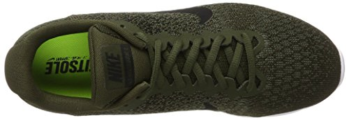 Brown 2 NIKE Sequent Men Air dark medium Running Khaki volt Max Black Competition s Grey Cargo Shoes Olive wcUzqf