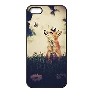 DIY Phone Case for Iphone 5,5S, Vulpes vulpes Cover Case - HL-R675684