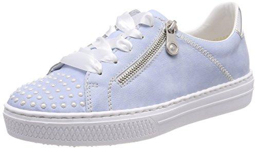 argento sky Zapatillas Rieker Azul L59c8 Mujer Para xzvcHOq4