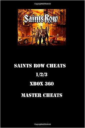 Cheats for saints row 2 for xbox 360 infinite money.