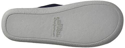Dearfoams Women's Textured Knit Closed Toe Scuff Slipper, Peacoat, M Regular US by Dearfoams (Image #3)