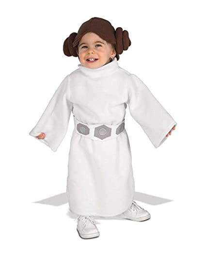 Horror-Shop Disfraz de Princesa Leia Baby 12-24 Monate ...