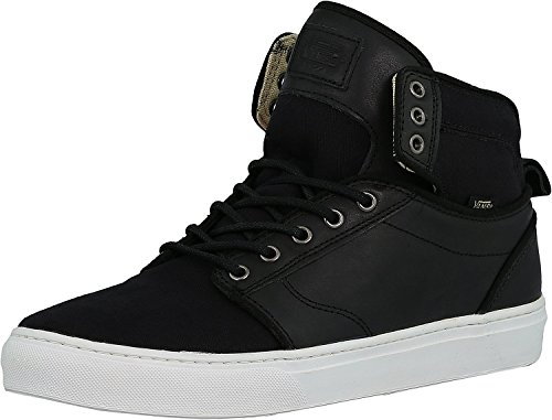 Vans Alomar Plus Visgraten Skate En Fashion Shoe Zwart / Wit