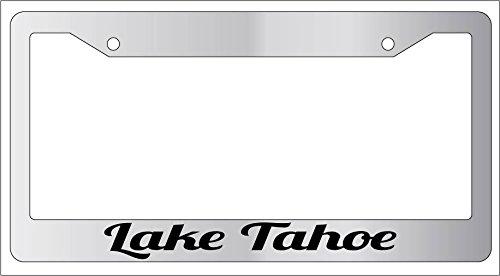 lake tahoe license plate frame - 1