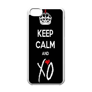 Singer The Weeknds Pattern Productive Back Phone Case For Iphone 5c -Style-20