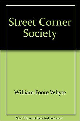 Street Corner Society Pdf