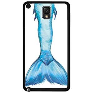 Colorful Blue and Purple Mermaid Tail Hard Snap on Phone Case (Note 3 III)