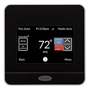 CARRIER Cor 7-Day Programmable Wi-Fi Thermostat with Energy Reports TP-WEM01 by Carrier