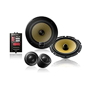 "Pioneer TS-D1730C 6 3/4"" Component Speaker Package, Set of 2"