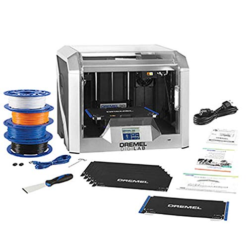 Dremel 3D40 Flex EDU 3D Printer and Education Accessories (Lesson Plans, Professional Development Course, Flexible Build Plate, Build Tape, Filament)