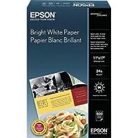 Bright White Paper, 11x17, 500 Sheet