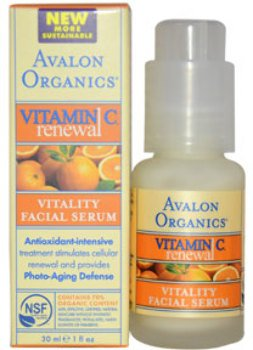 Unisex Avalon Organics Vitamin C Renewal Vitality Facial Serum 1 oz 1 pcs sku# - C Facial Avalon Serum Vitality Vitamin Organics
