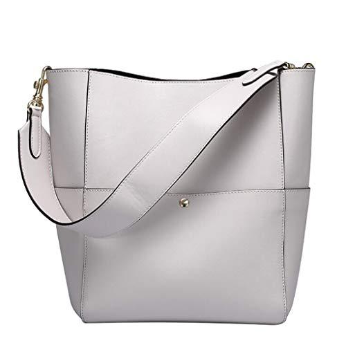 9 10 Spalla Dimensioni Donna Size A 12 In Cm colore 31 Donna 25 6 84 5 Moda Bianco Borsa One 15 Bianco Pelle Per Tracolla 20inch Elegante Pu YaHHSq