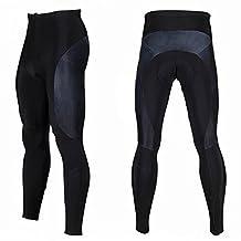 Baiyu Mens Cycling 3D Honeycomb Cushion Trouser WinterWarm Cold Wear Padded Legging Cycling Tights Long Pants