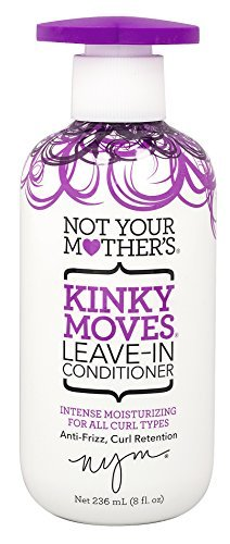 Not Your Mothers Conditioner Kinky Moves Leave-In 8oz Pump (3 Pack) ()