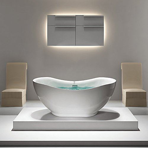 Golden Vantage Freestanding Bathroom Soaking