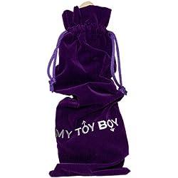My Toy Boy - Sacchetto In Velluto Viola Per Custodire I Sextoys - 29 X 11,5 Centimetri