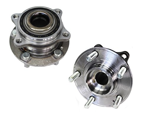 Detroit Axle Both (2) New Driver & Passenger Side Complete Wheel Hub & Bearing Assembly for Hyundai & Kia Vehicles